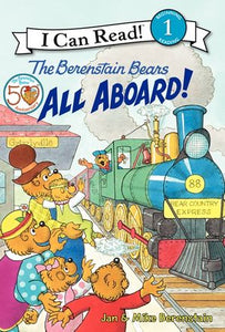 The Berenstain Bears: All Aboard! - Level 1 - I Can Read Books