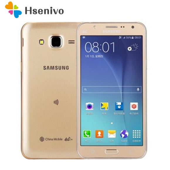 100% Original Samsung Galaxy J7 Unlocked Mobile Phone 5.5 inch Octa-core 13.0MP 1.5GB RAM 16GB ROM 4G LTE Cell phone refurbished - VicTek Mobile