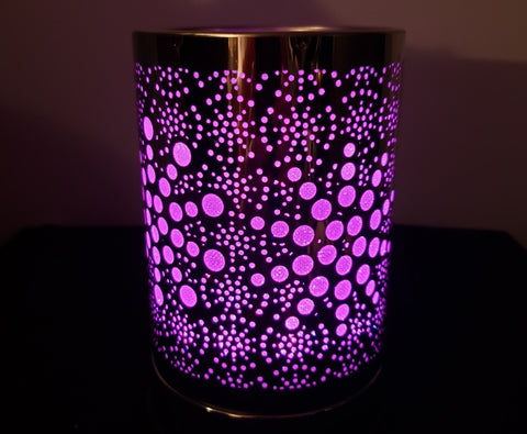 LED Bubble oil warmer by Aroma Delights