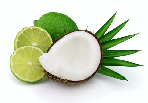 coconut lime scented oil