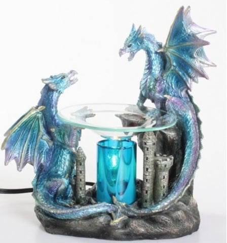 dragon oil warmer by aroma delights