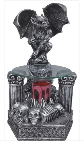gargoyle oil warmer by aroma delights