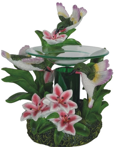 hummingbird oil warmer by aroma delights