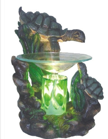 turtle oil warmer by aroma delights