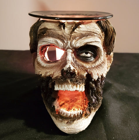 zombie oil warmer by aroma delights