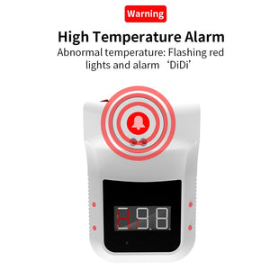 Wall Mounted Fever Alarm Non-Contact Forehead Thermometer