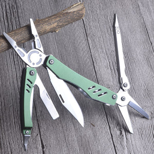 9 in 1 Multitool scissor Pliers