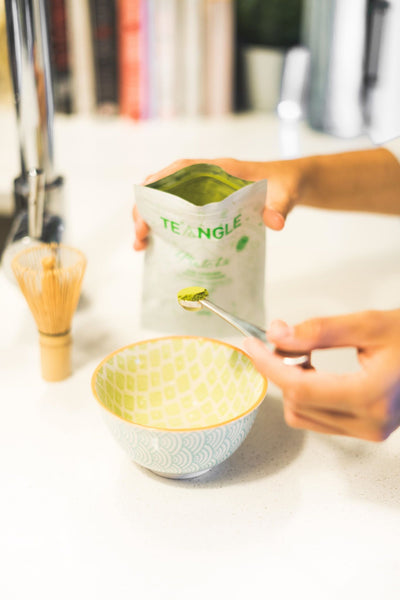 Comment faire un Matcha latte vegan