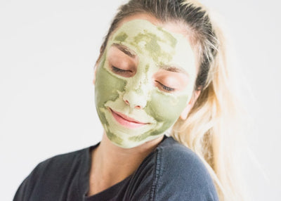 Matcha Body Scrub and Mask For Healthy Glowing Skin