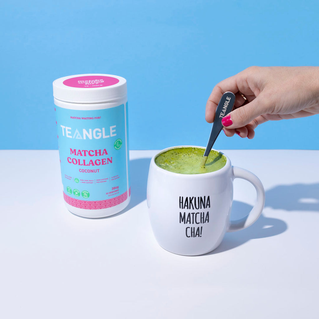 Teangle Matcha Collagène