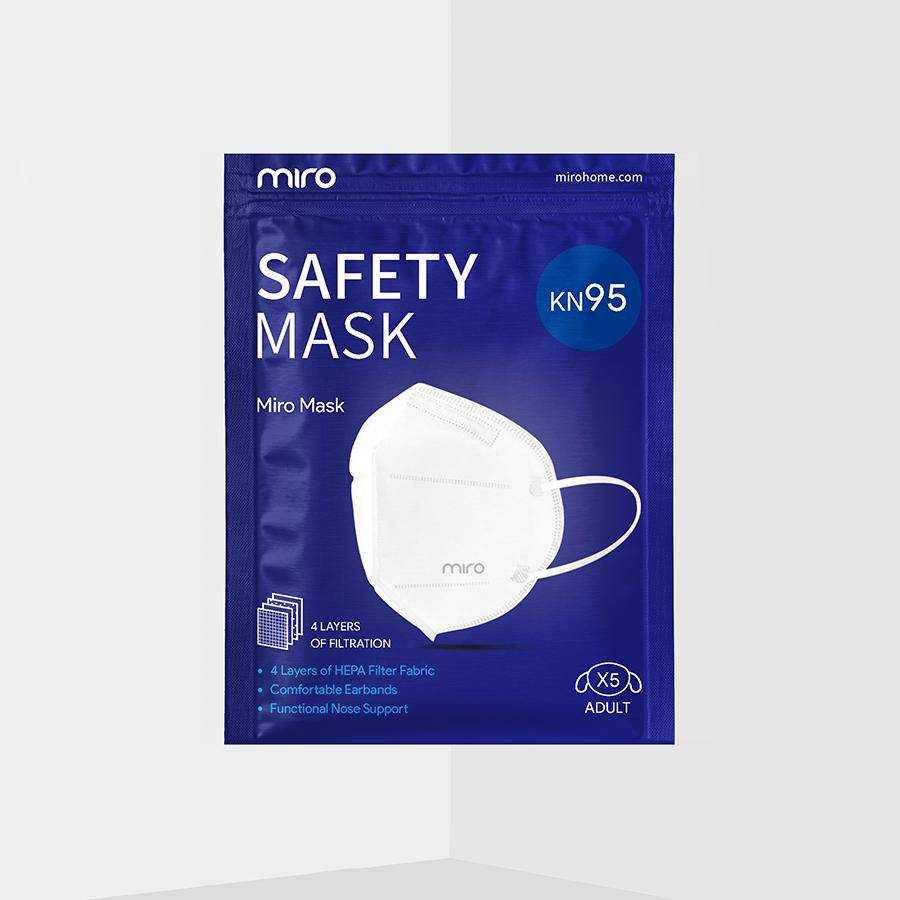 Miro Safety Mask Package Front