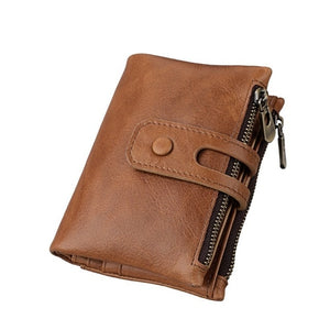 Short Women Wallet Genuine Leather Wallet Female Coin Purse Lady Cuzdan Women's Wallet Purse Card Holder Driver License Holder
