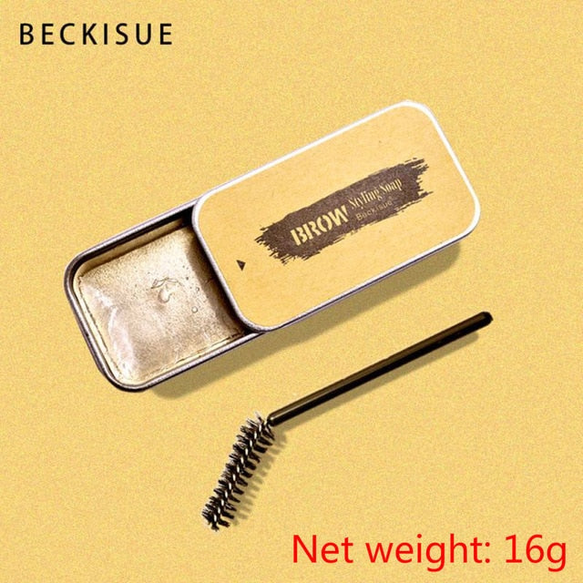 1PC 3D Feathery Brows Setting Gel Waterproof Soap Brow Makeup Kit Lasting Eyebrow Gel Women Eyebrow Tint Pomade Cosmetics TSLM2