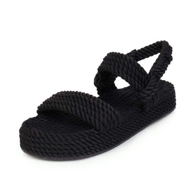 RIZABINA Size 35-43 Women Sandals Summer Shoes Fashion Platform Wedges Shoes Women Sexy Gladiator Sandal Lady Home Footwear