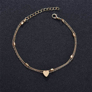 Yobest Chain Anklet On The Leg Foot Bracelet Women Simple Slim Adjustable Wire Ankle Summer Beach Jewellery Wholesale