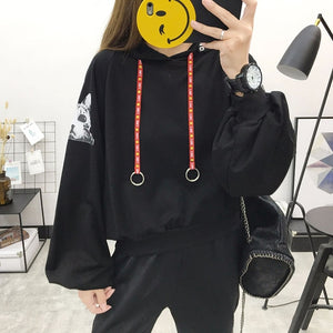 Woman's Solid 3 Colors Hoodies Sweatshirts Female 2020 Cotton Thicken Warm Hoodies Lady Autumn Fashion Streetwear Tops Women