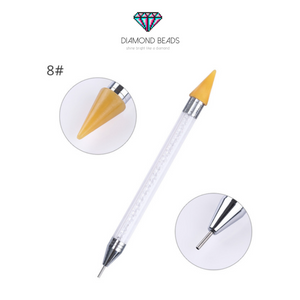 Dual Sided Crystal Pen