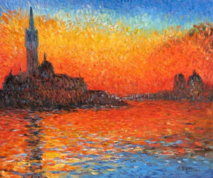 Sunset In Venice, 1908