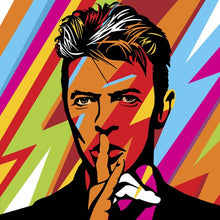 Load image into Gallery viewer, David Bowie Pop Art