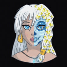 Load image into Gallery viewer, Princess Kida - Sugar Skull