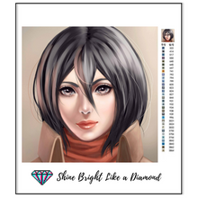 Load image into Gallery viewer, Mikasa Ackerman Portrait