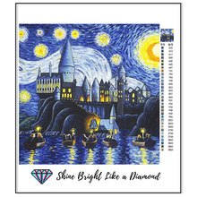 Load image into Gallery viewer, Hogwarts Starry Night