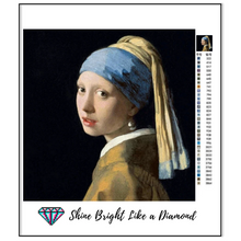 Load image into Gallery viewer, The Girl With The Pearl Earring - 1665