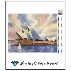 Sydney - Opera House Watercolor
