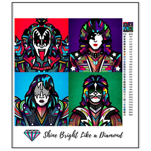 Kiss Pop Art