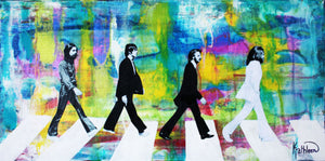 The Beatles Abbey Road Watercolor