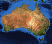 Load image into Gallery viewer, Australia Map