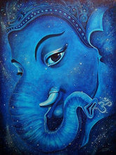 Load image into Gallery viewer, Blue Ganesha