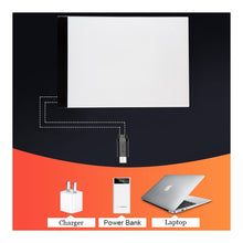 Load image into Gallery viewer, Ultra Thin - Tablet Pad A4/A3 -  3.5mm Led Light