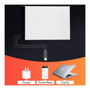 Ultra Thin - Tablet Pad A4/A3 -  3.5mm Led Light