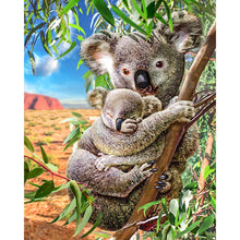 Load image into Gallery viewer, Koala Mom & Koala Baby