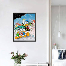 Load image into Gallery viewer, Donald Duck and the three nephews: Huey, Dewey, and Louie