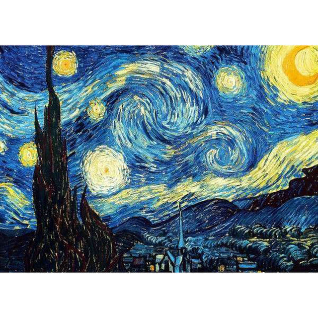 Starry Night Van Gogh - 1889