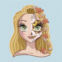Load image into Gallery viewer, Rapunzel - Sugar Skull