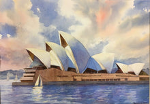 Load image into Gallery viewer, Sydney - Opera House Watercolor