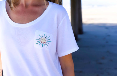 Need Sun - Boyfriend Pocket Tee