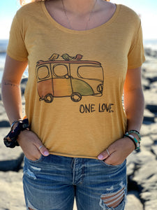 One Love Graphic Tee