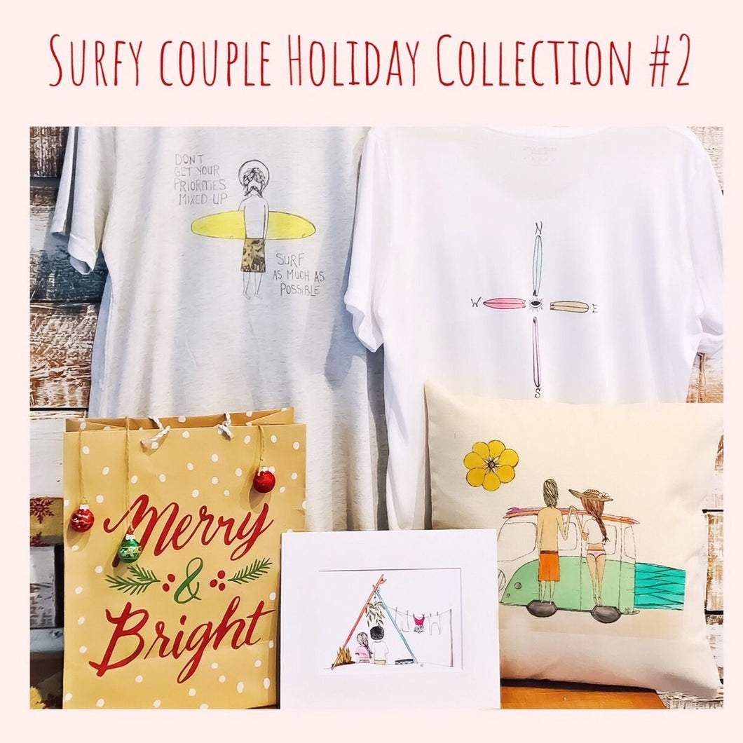 Surfy Couple Holiday Collection #2