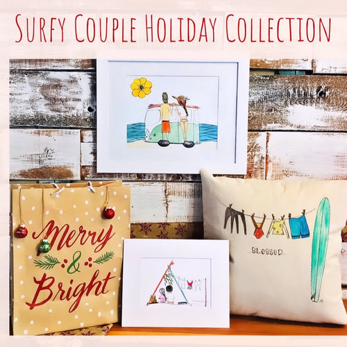 Surfy Couple Holiday Collection