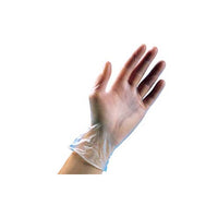 100ct Box Vinyl Gloves - Medium - Powder and Latex Free