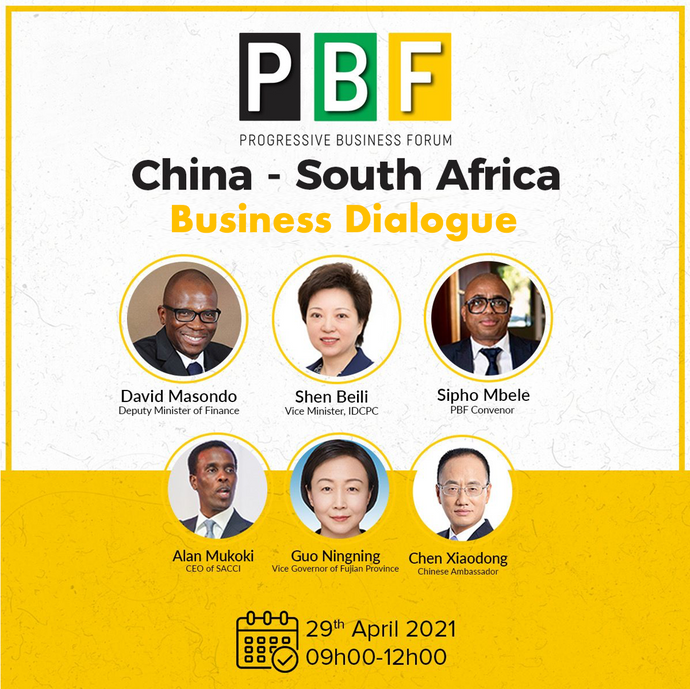 CHINA - SOUTH AFRICA BUSINESS DIALOGUE