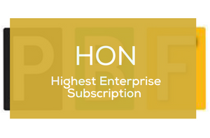 HON Subscription (Annual Subscription) - PBF