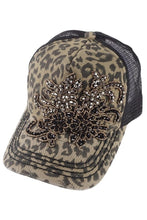 Load image into Gallery viewer, Paisly Bling Floral Trucker Hat by Olive & Pique