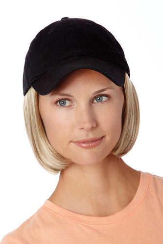 Shorty Hat Black by Henry Margu - Hair Accents Collection