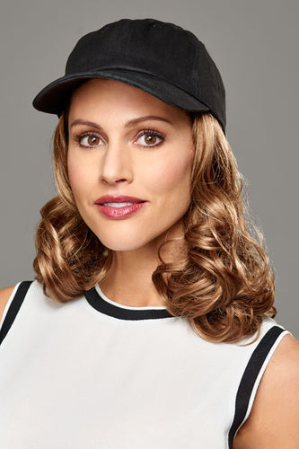 Curly Hat Black by Henry Margu - Hair Accents Collection