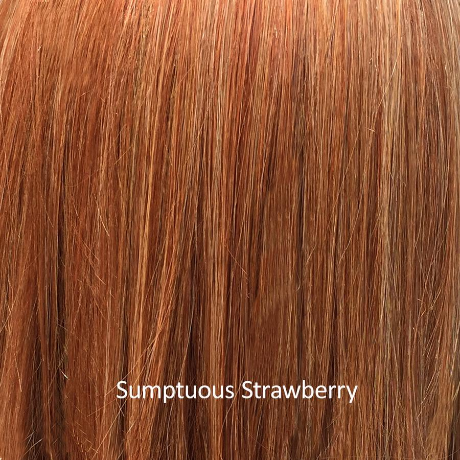 Shirley's Sunday Showcase: Cold Brew Chic Wig by Belle Tress in Sumptuous Strawberry | Now 35% OFF